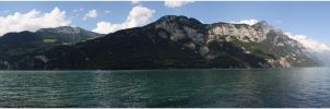 Walensee Panorama by shenanigan87