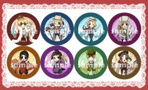 APH Badges by mandachan
