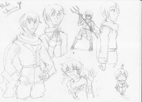 Male Ukraine sketches by Humblehistorian