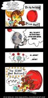 Big Red Button - R+C Comic by KeyshaKitty