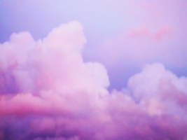 pink clouds by massimunex