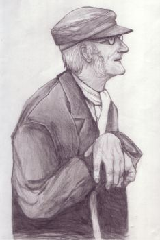 Old Dude by Javen