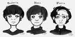 corrupt-o-visionaries: face practice by m5w