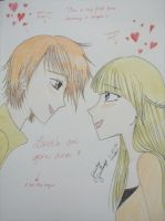 This is my first time drawing a couple. :I by YueSato