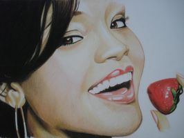 Rihanna ( colour pencils) by ARTIEFISHEL79