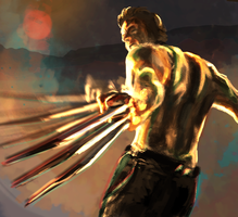 Wolverine by radiant-toe