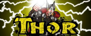 the Mighty Thor by RWhitney75