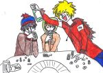 Kenny and Partying... wow by marmite789