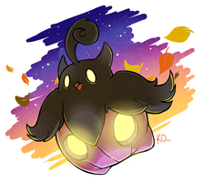 Favorite Ghost Type: Pumpkaboo by KatieOsika