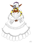 Spawnfan's Bridal Pirotess Coloured by OneMessedUpHero