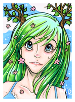 Tohea - ACEO trade by tea-bug