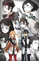 Sword Art Online Ordinal scale by GoRogue