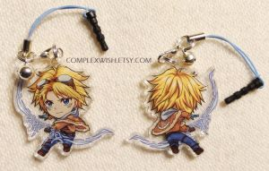 League of Legends Reversible Charm - Ezreal by ComplexWish