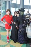 Clara, Jenny Flint and Madame Vastra by KatyCrash