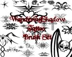 WS Tattoo Brush Set by DestroyingAngels