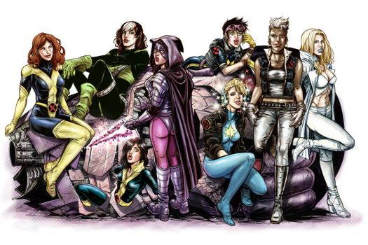 The X-Men by funrama