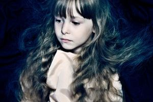 girl with pale face by lafaette