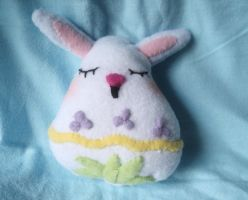 Mini Rabbit Egg Plushie by XOFifi