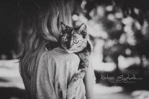 Happy cat by Katrin-Elizabeth
