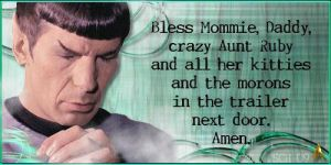 Star Trek-Spock n Aunt Ruby by schematization