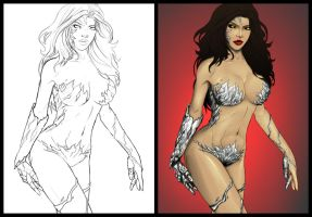 witchblade commission is done by MaayanCohen