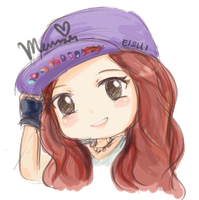 Girls Generation Tiffany Chibi -RENDER- by K-popx3