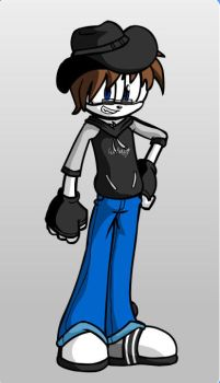 gamer097 as a Mobian by gamer097
