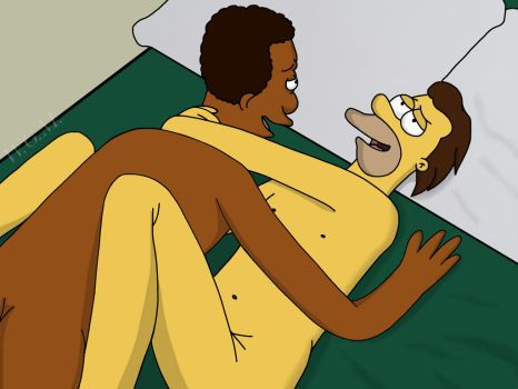 NSFW Lenny and Carl by UnderGrell