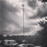 Antenna in a Gray Sky by wiebkefesch