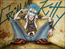 Grimmjow by SybLaTortue