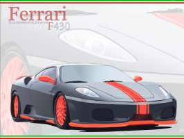 The Ferrari F430 by Illusionator