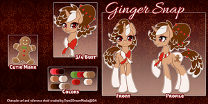 [RLC] Ginger Snap Ref by Dare2DreamMedia
