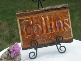 Copper Sign Custom Name or Room Christmas gift by artistiquejewelry