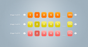 Page Numbers .psd by emrah-demirag