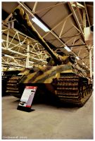 Panzerkampfwagen VI Tiger II by Grekwood