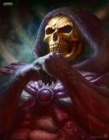 Skeletor by ImmarArt