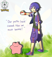 KG: DITTO, I CHOOSE YOU! by cushens