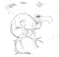 Secondary Dodo rough by T-RexJones