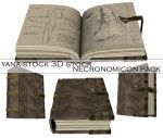 3D Stock - Necronomicon Pack by yana-stock