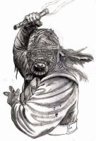 tusken raider by NickoTheArtist