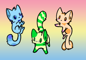 Kitty Adoptables Sweets 5 Points -OPEN- by Asunaw