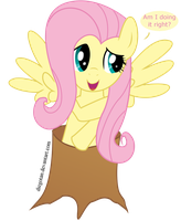 Fluttershy the Tree by DiegoTan