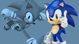 Super Smash Bros. Stop-Motion: Sonic by SonicChaos1000