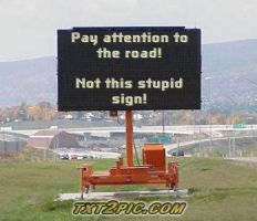 funny sign no.1 by dylrocks95