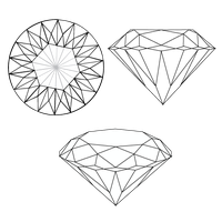 Bases for Crystals/Diamonds by DrawDesign