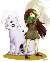Shoko and Her Companion by JauntyEyes
