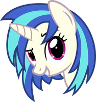 Vinyl Scratch - You wanna go? by GeoNine