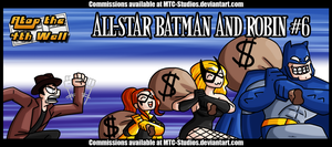 AT4W: All-Star Batman and Robin #6 by MTC-Studio