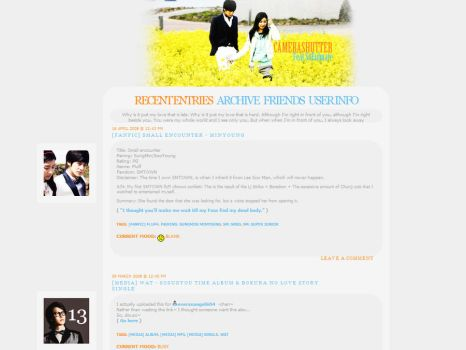 LiveJournal Layout by Ginyuki-chan