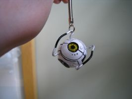 Space core key chain by gingaparachi